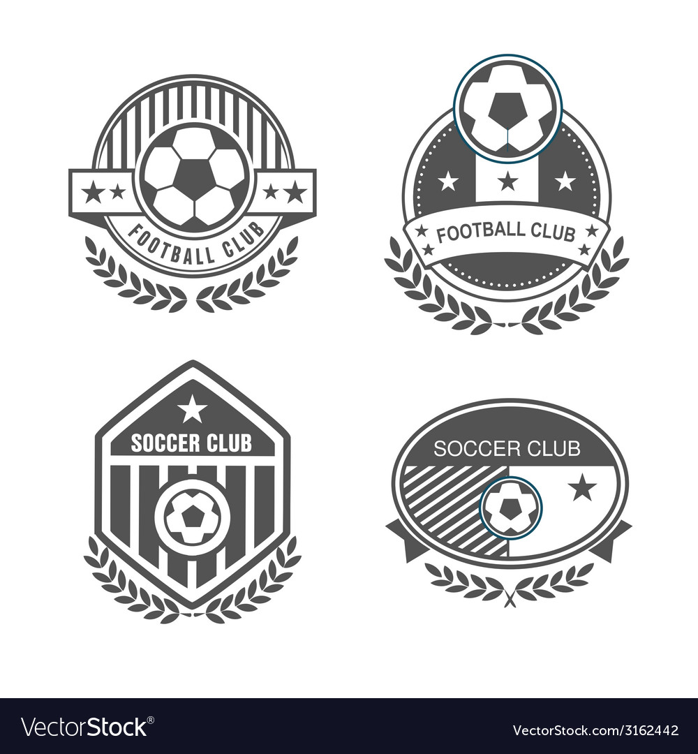 Football logo vector | Price: 1 Credit (USD $1)