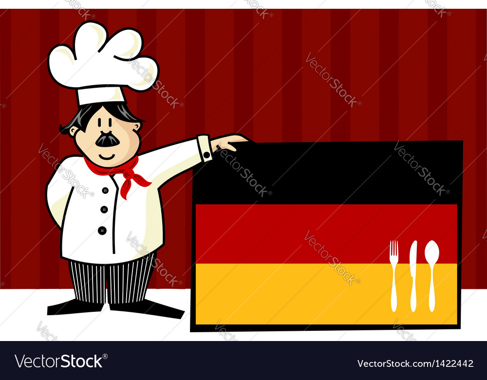 German cuisine vector | Price: 1 Credit (USD $1)