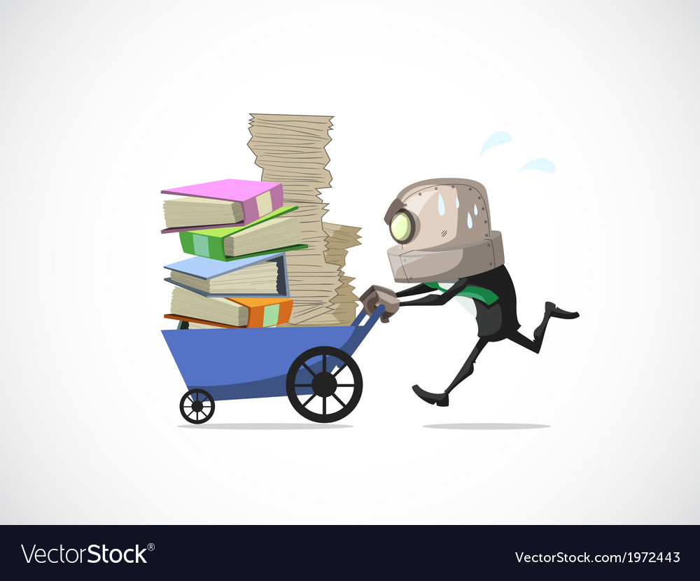 Businessman run vector | Price: 1 Credit (USD $1)