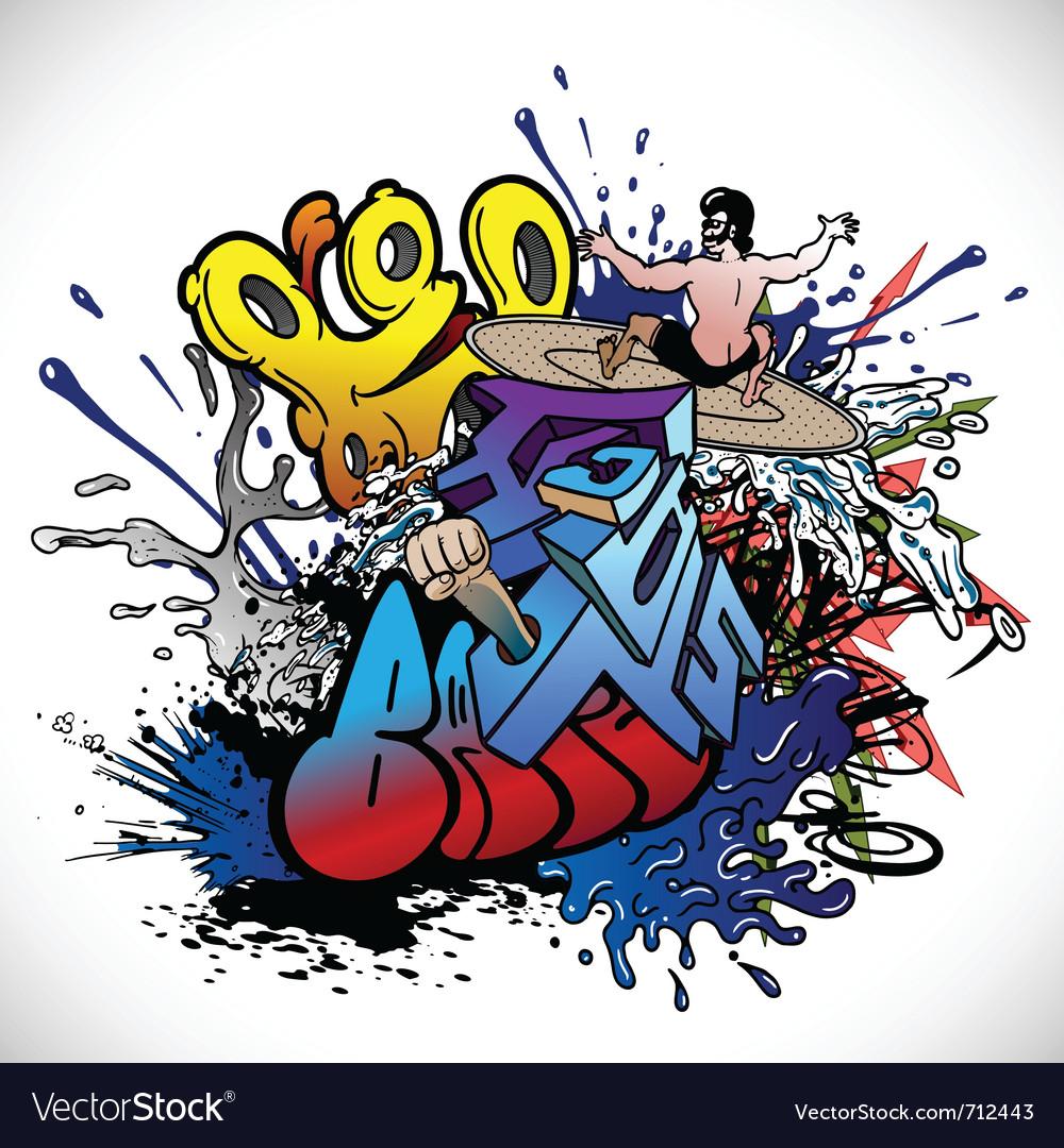 Graffiti vector   Price: 3 Credit (USD $3)