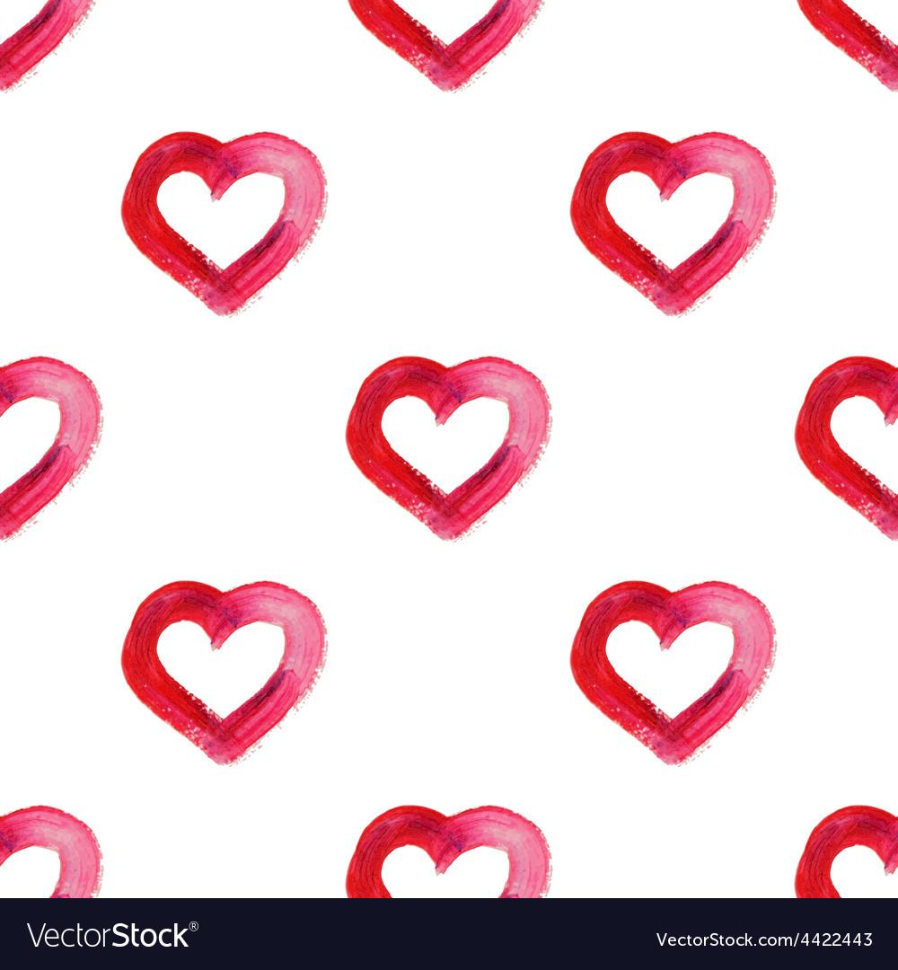 Watercolor hand drawn heart vector | Price: 1 Credit (USD $1)