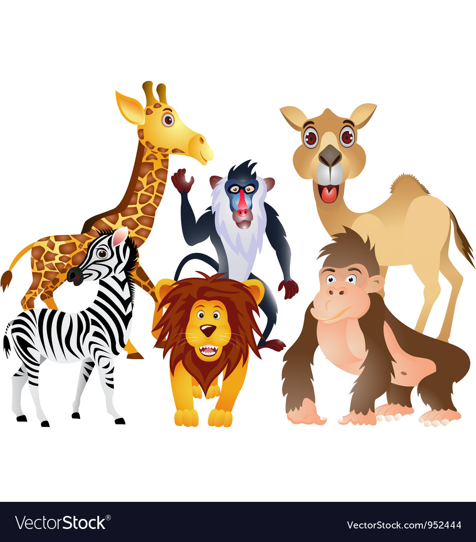 Animal collection vector | Price: 3 Credit (USD $3)
