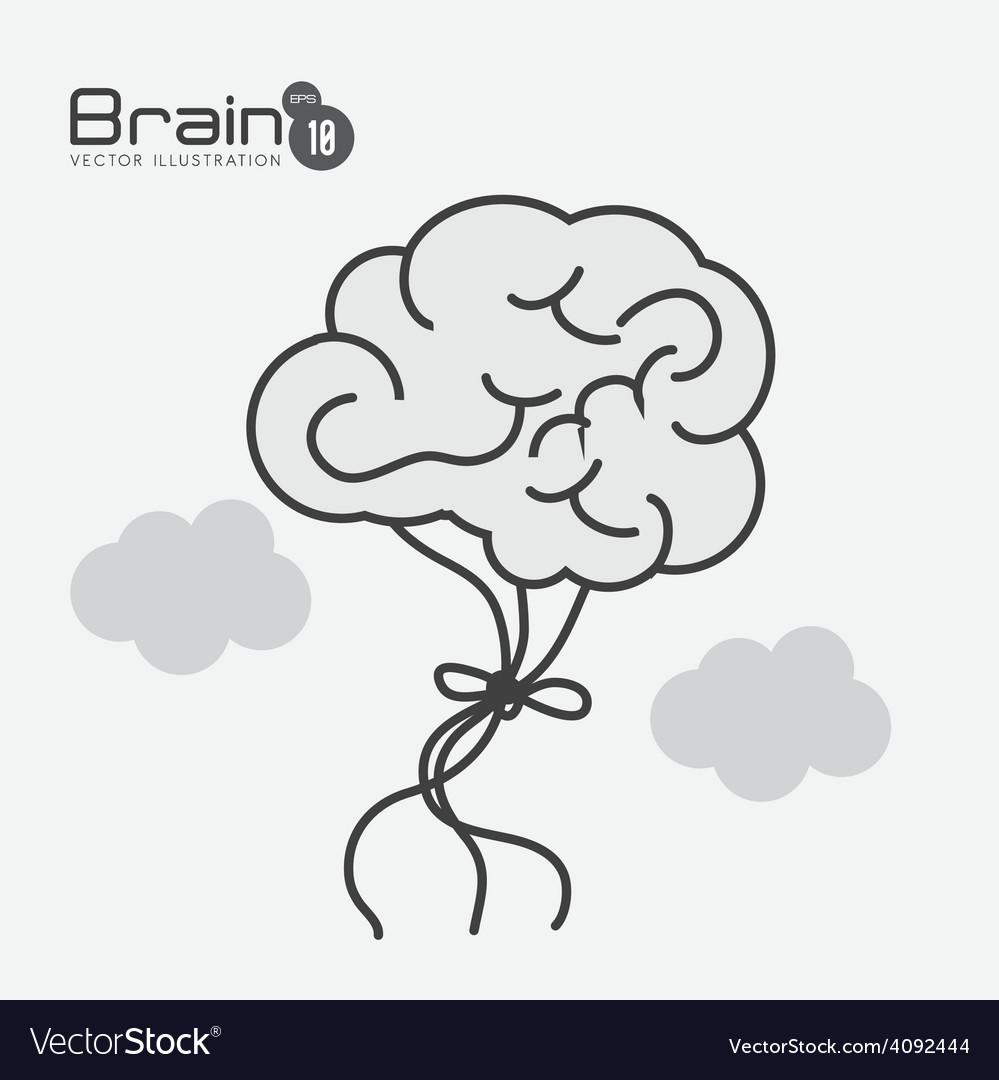 Brain design vector | Price: 1 Credit (USD $1)