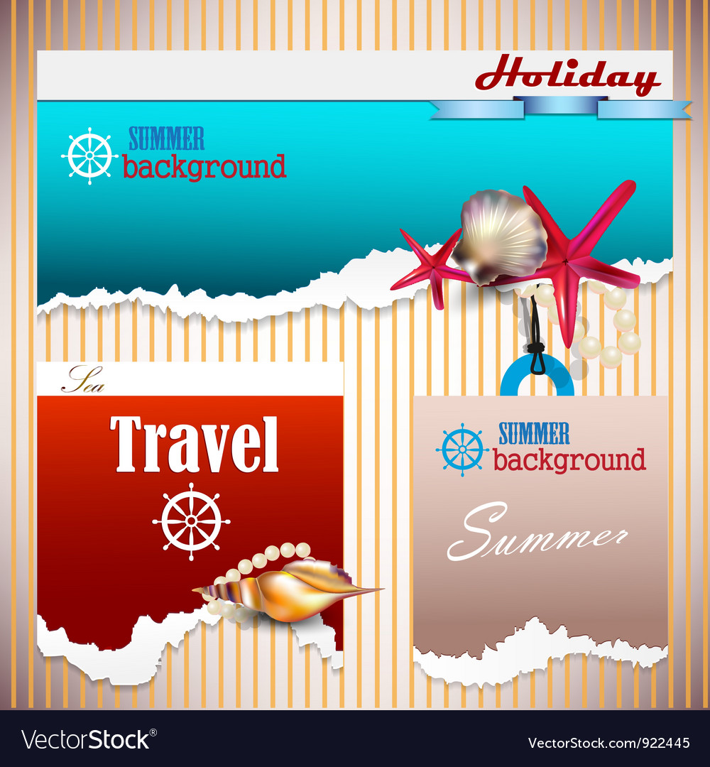 Holiday banners vector | Price: 3 Credit (USD $3)
