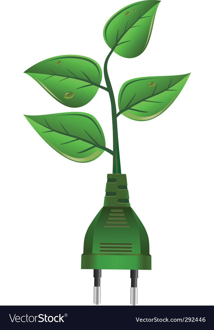 Green energy vector | Price: 1 Credit (USD $1)