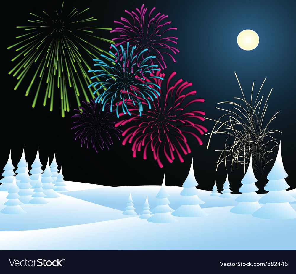 Winter christmas vector | Price: 1 Credit (USD $1)