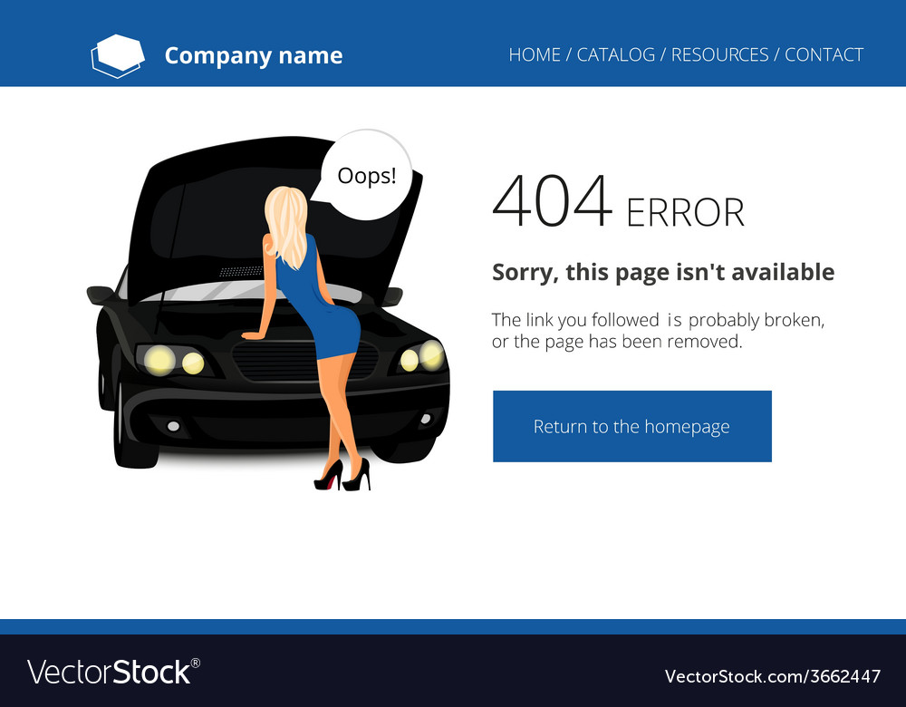 Error 404 vector | Price: 1 Credit (USD $1)