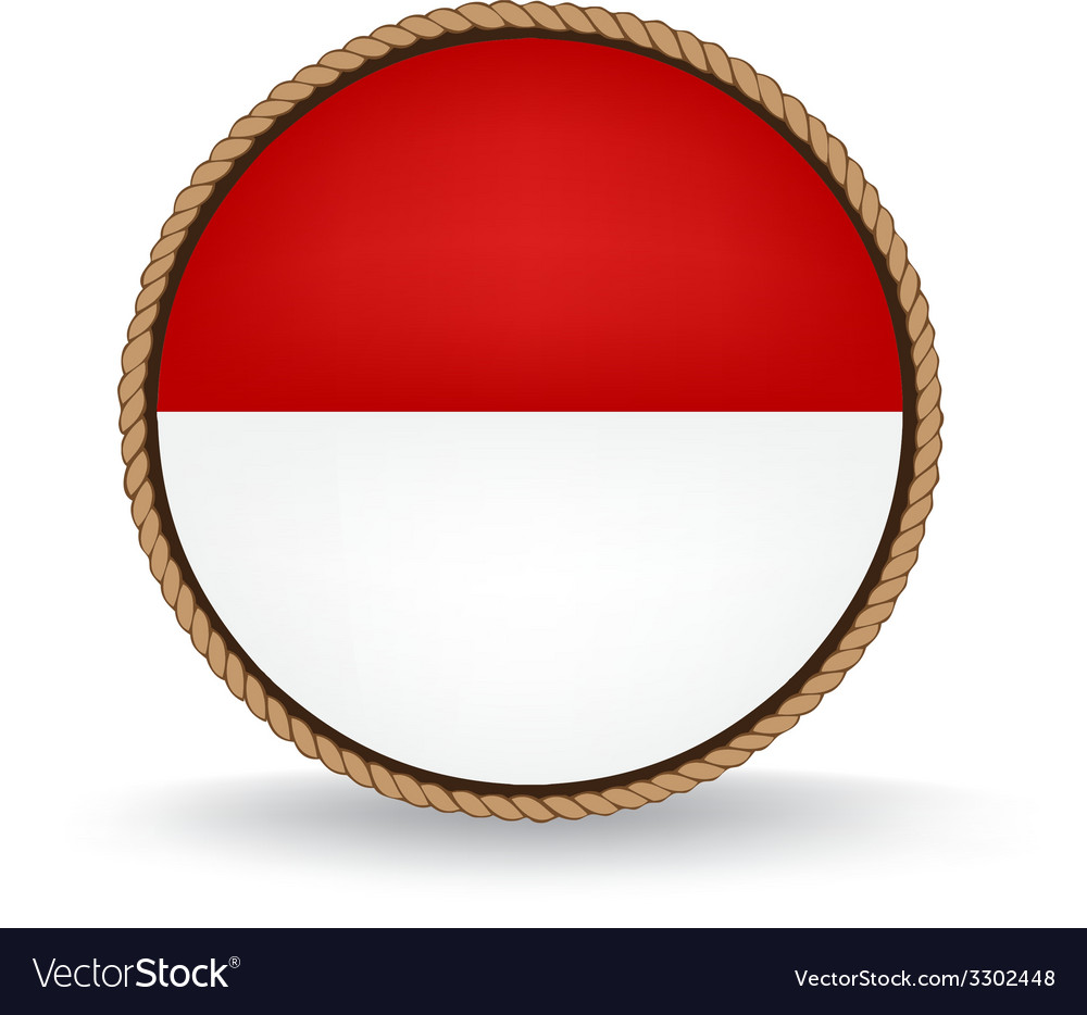 Indonesia seal vector | Price: 1 Credit (USD $1)