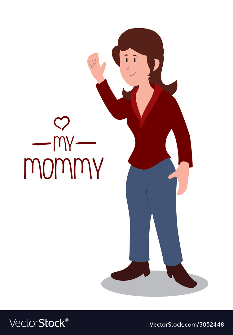 Mommy design vector | Price: 1 Credit (USD $1)