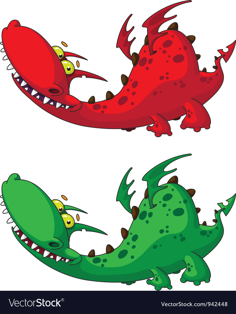 Nice dragon vector | Price: 3 Credit (USD $3)