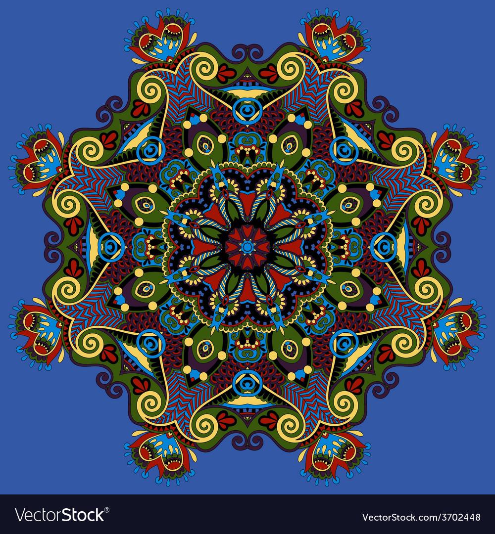 Spiritual indian symbol of lotus flower vector | Price: 1 Credit (USD $1)