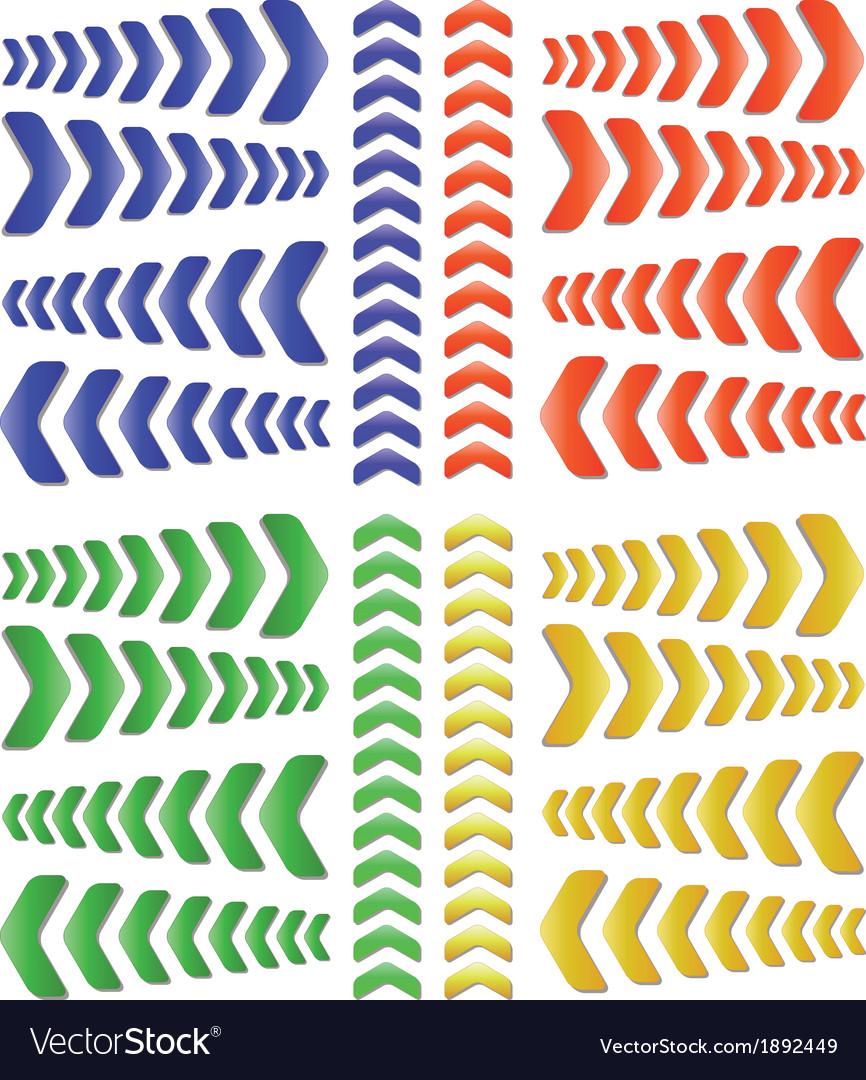 Arrow collection vector | Price: 1 Credit (USD $1)