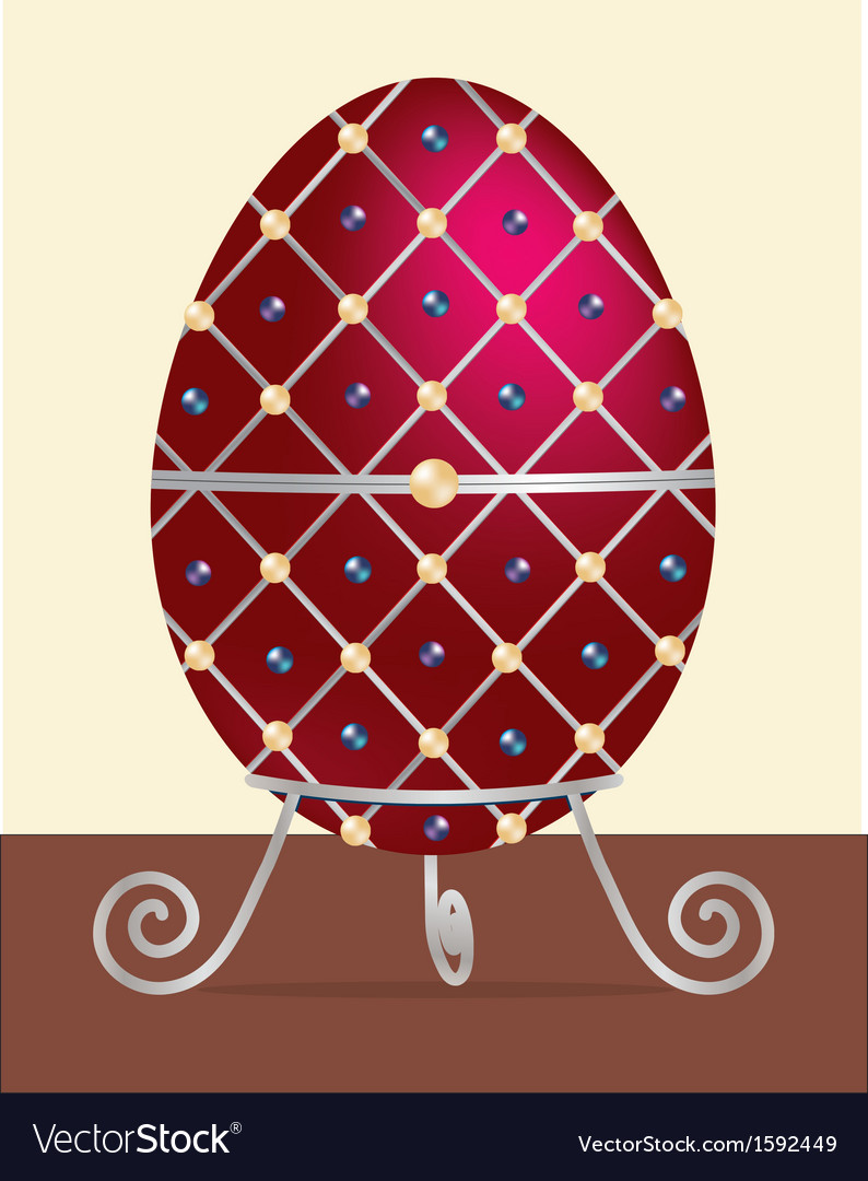 Faberge egg vector | Price: 1 Credit (USD $1)