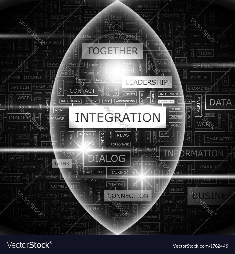 Integration vector | Price: 1 Credit (USD $1)