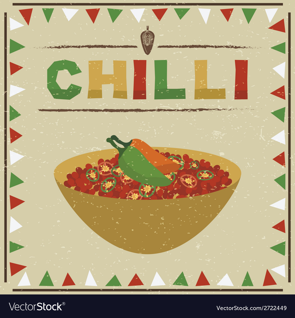 Mexican chilli vector | Price: 1 Credit (USD $1)