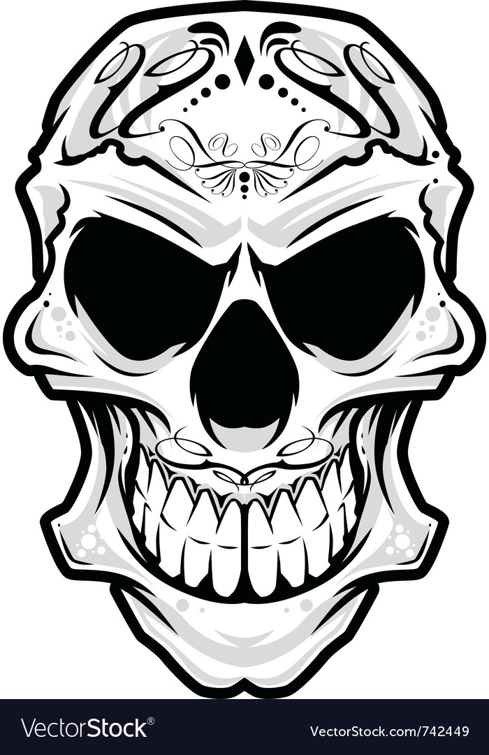 Mexico skull vector | Price: 3 Credit (USD $3)