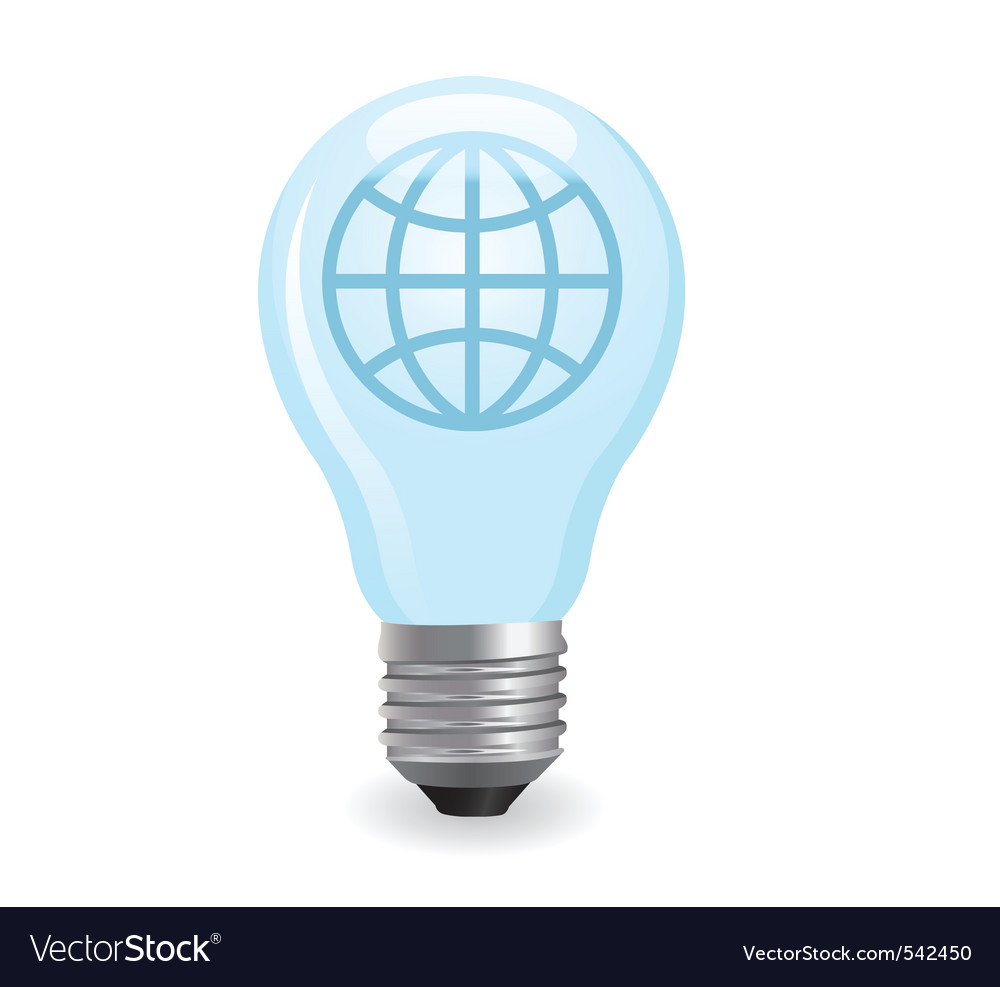 Electric light bulb vector | Price: 1 Credit (USD $1)