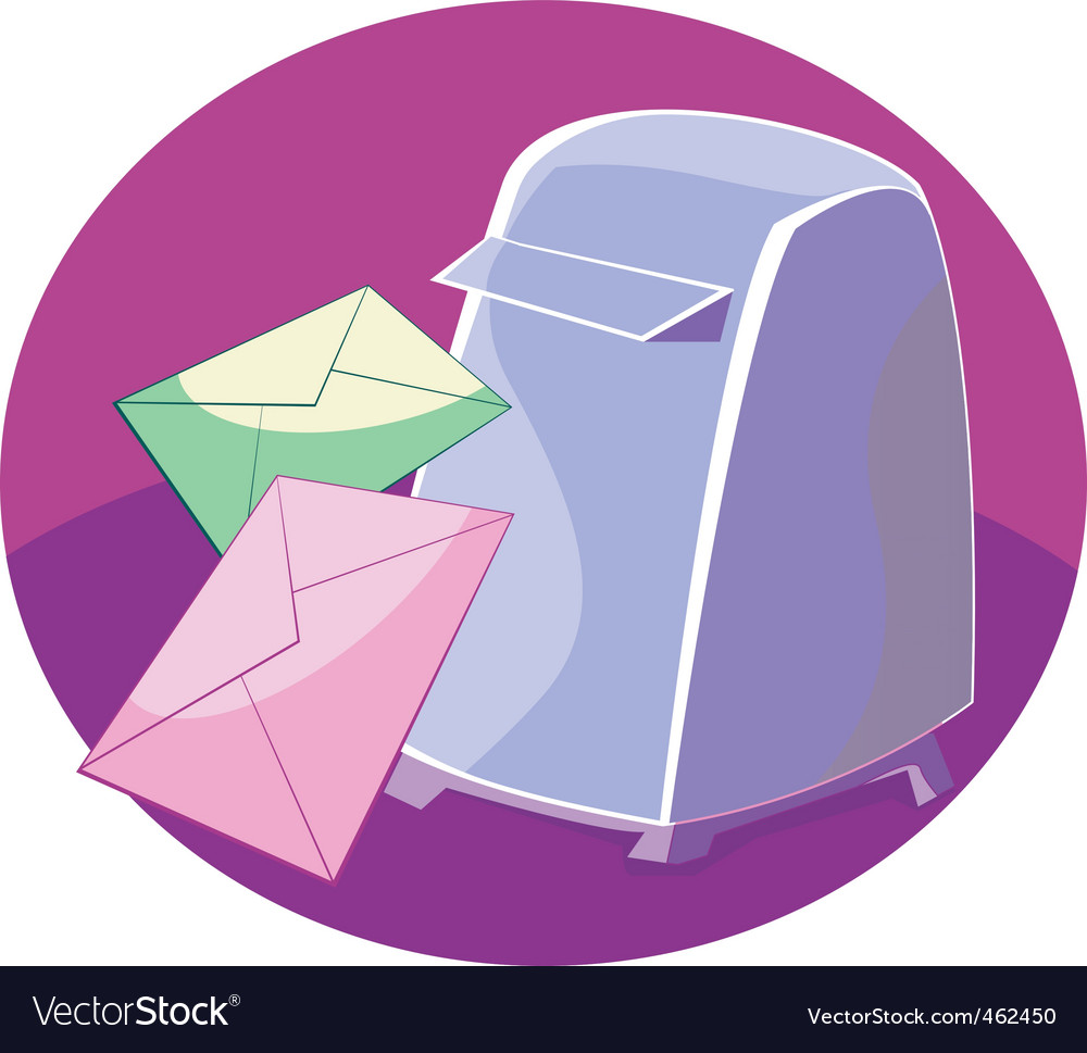 Mail box vector | Price: 1 Credit (USD $1)