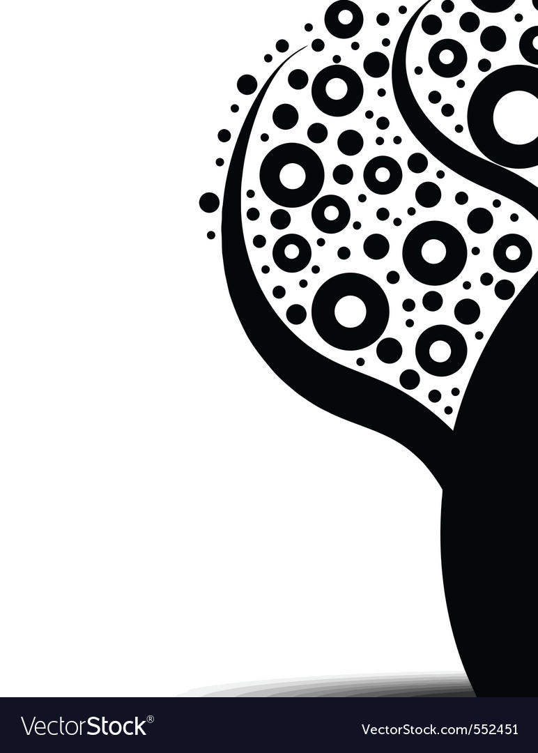 Abstract art tree vector | Price: 1 Credit (USD $1)