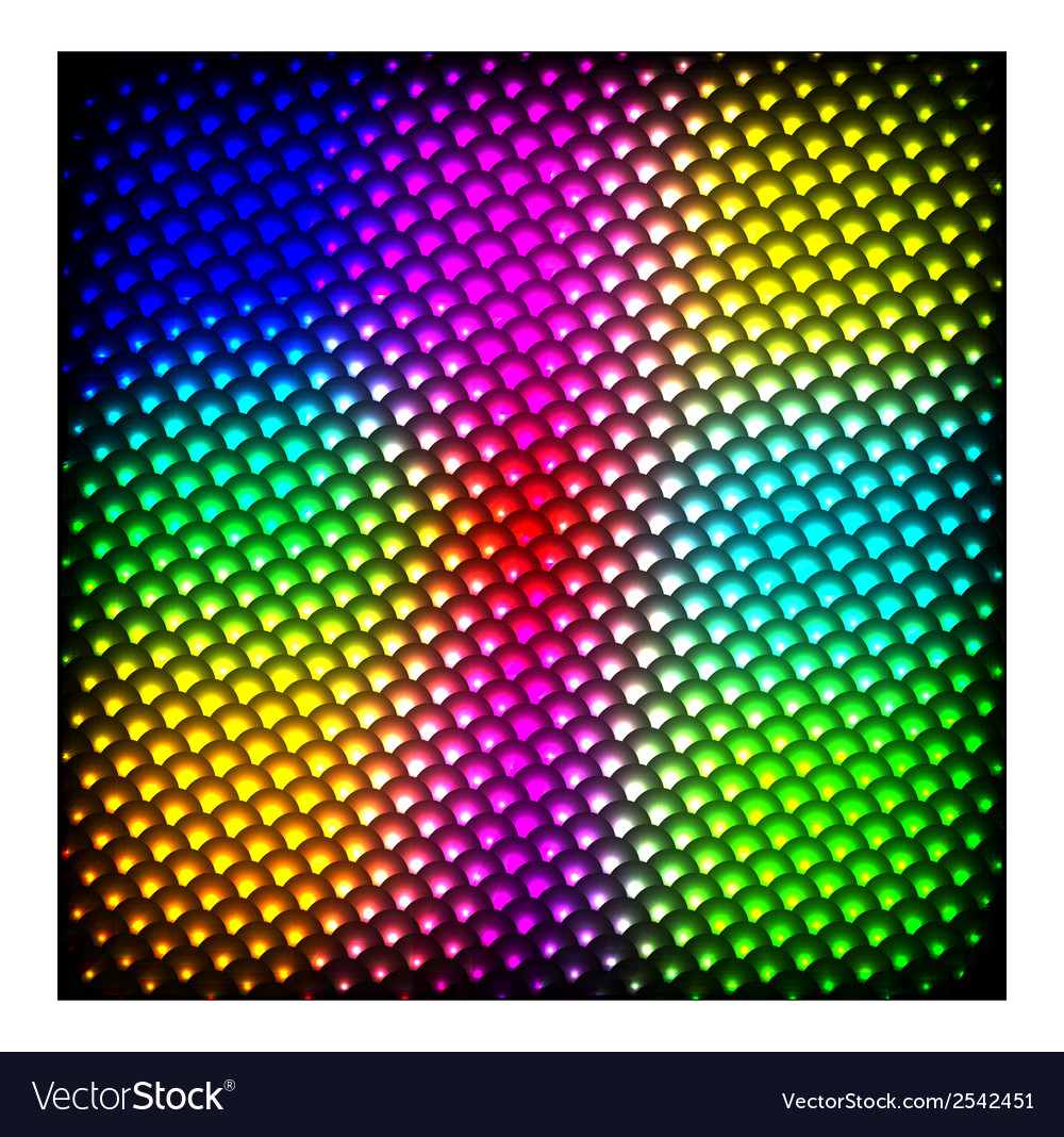 Abstract spectrum dark background with colored vector | Price: 1 Credit (USD $1)