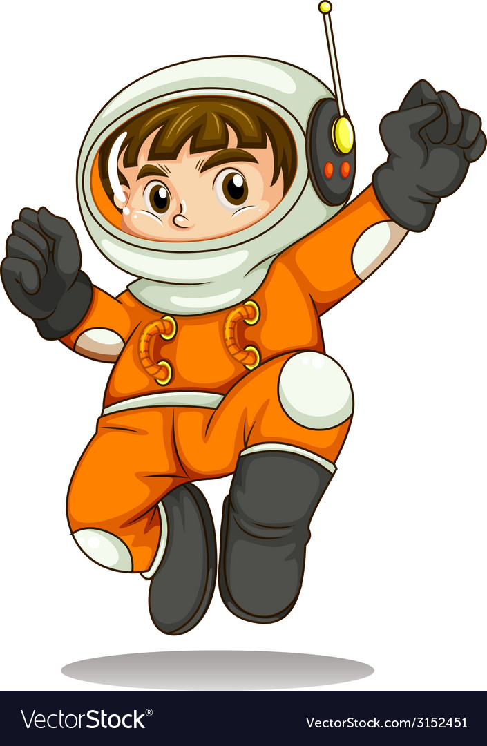 An astronaut vector | Price: 1 Credit (USD $1)