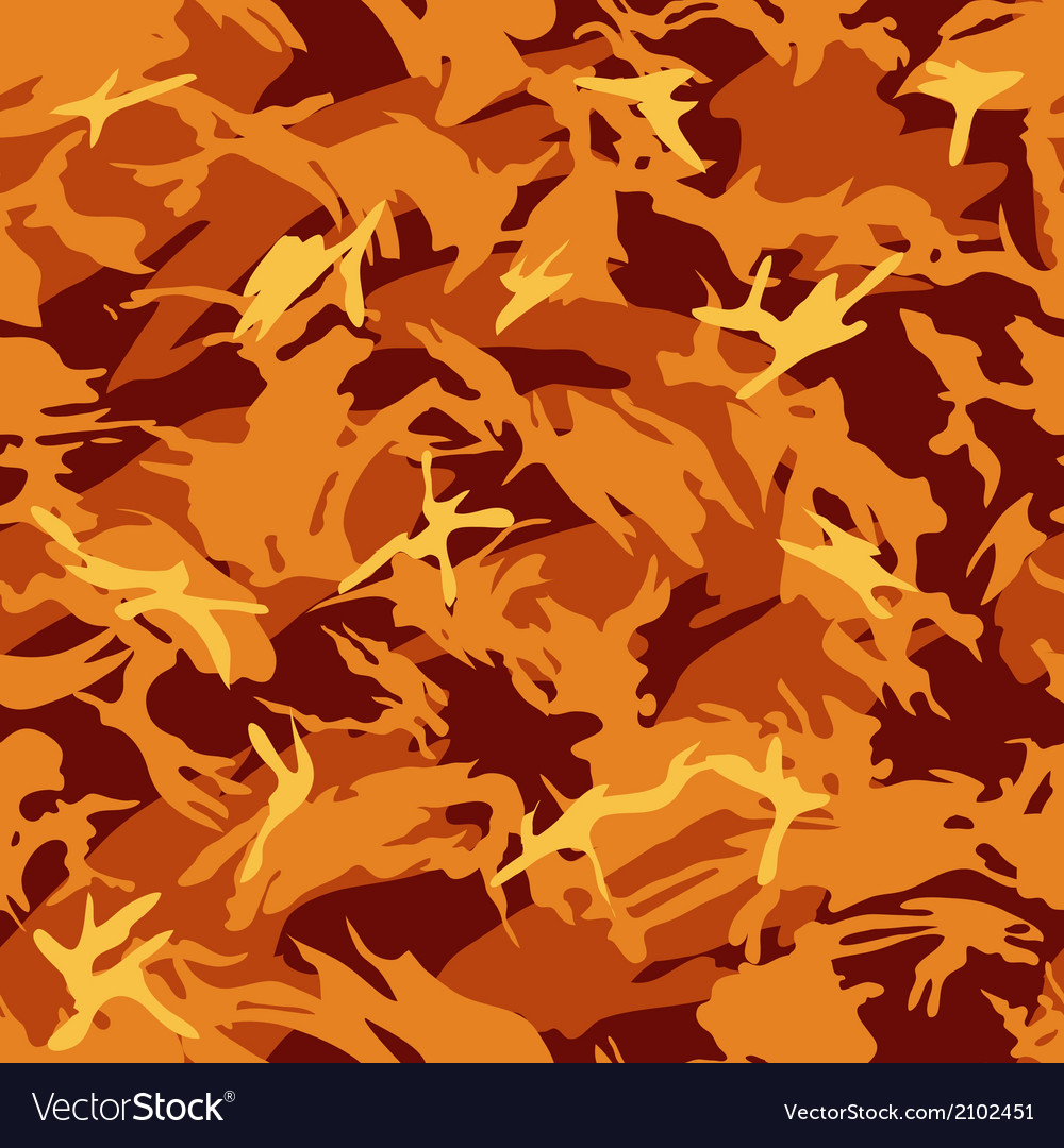 Fire seamless pattern vector | Price: 1 Credit (USD $1)