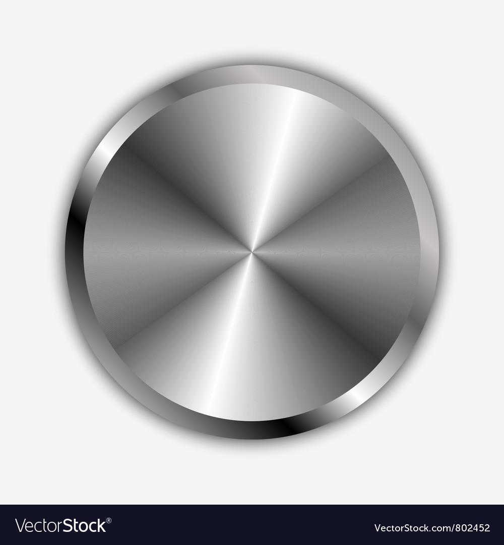 Chrome knob vector | Price: 1 Credit (USD $1)
