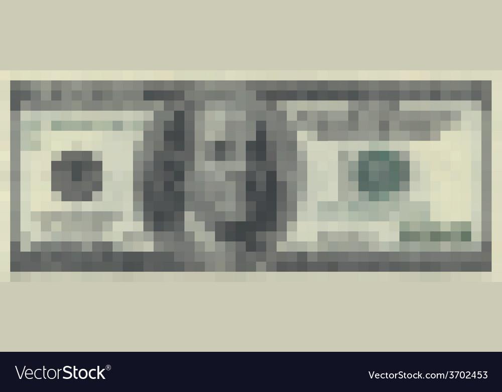 100 dollars pixelart vector   Price: 1 Credit (USD $1)