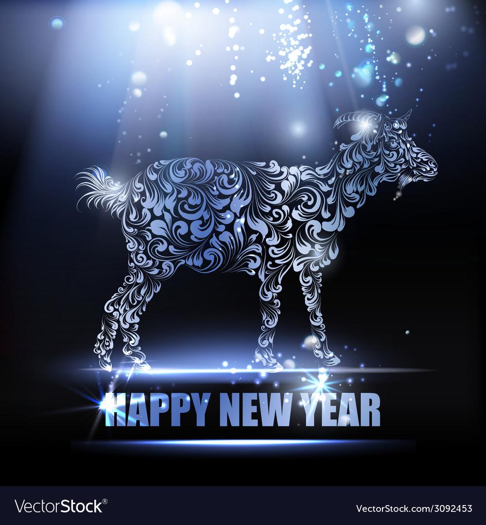 New year symbol vector | Price: 1 Credit (USD $1)