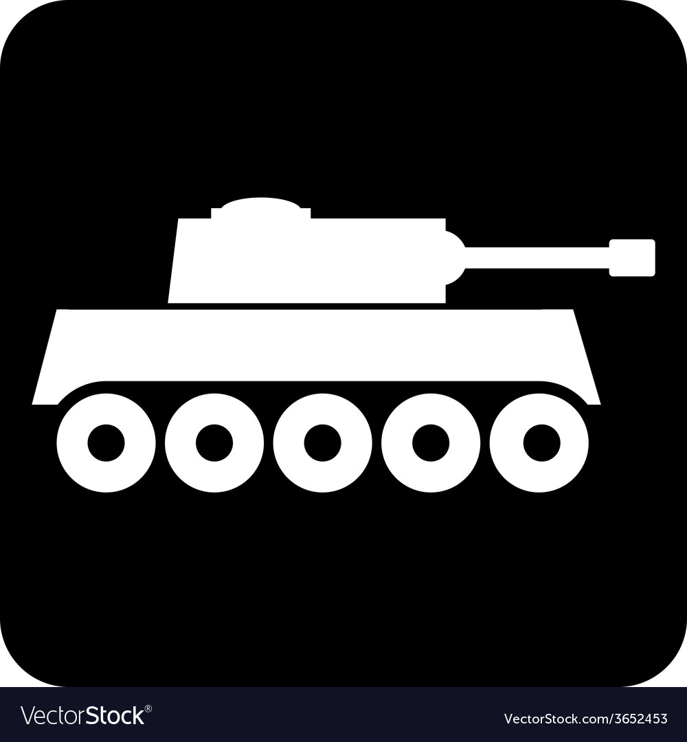 Panzer icon vector | Price: 1 Credit (USD $1)