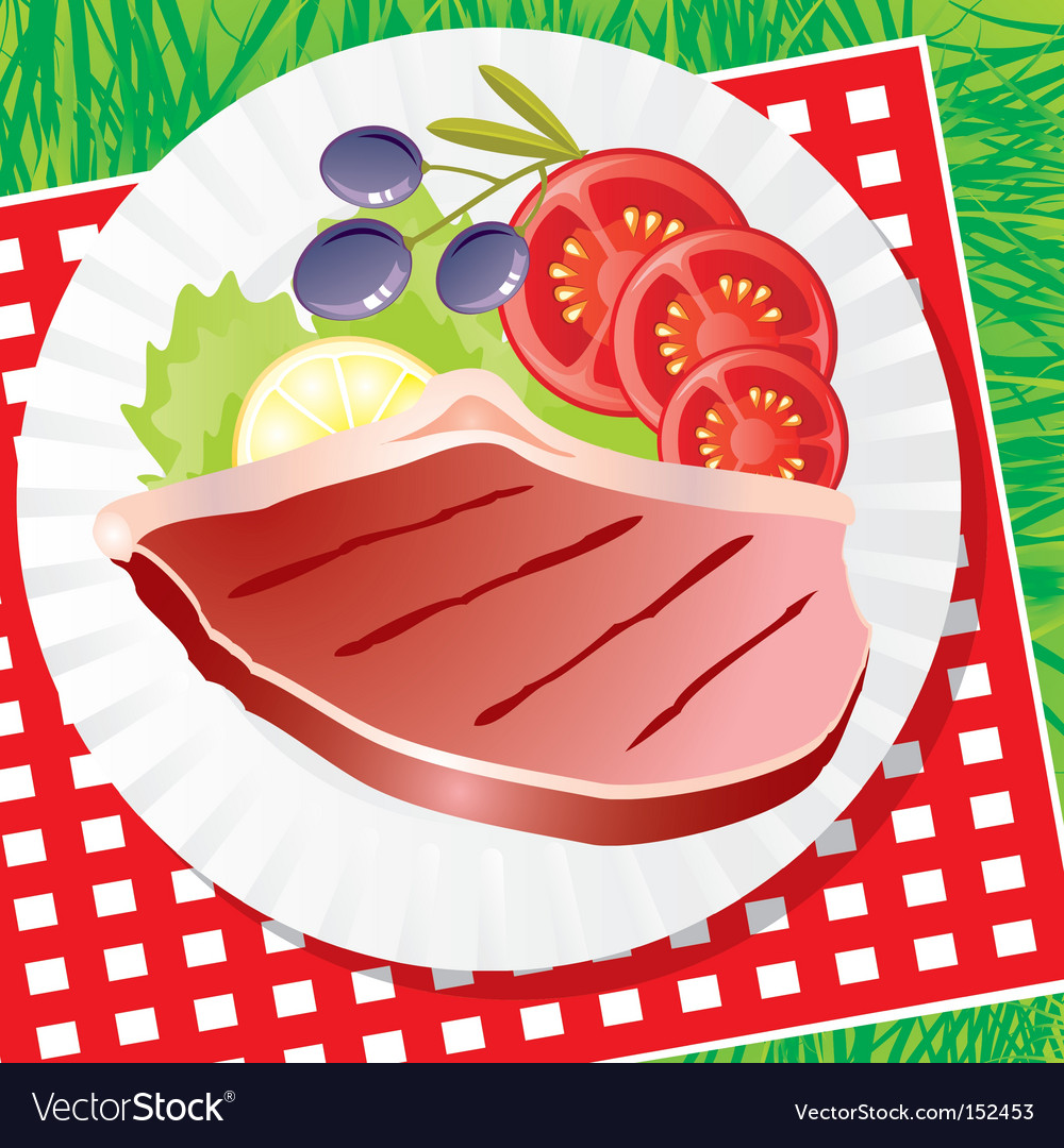 Picnic food vector   Price: 1 Credit (USD $1)