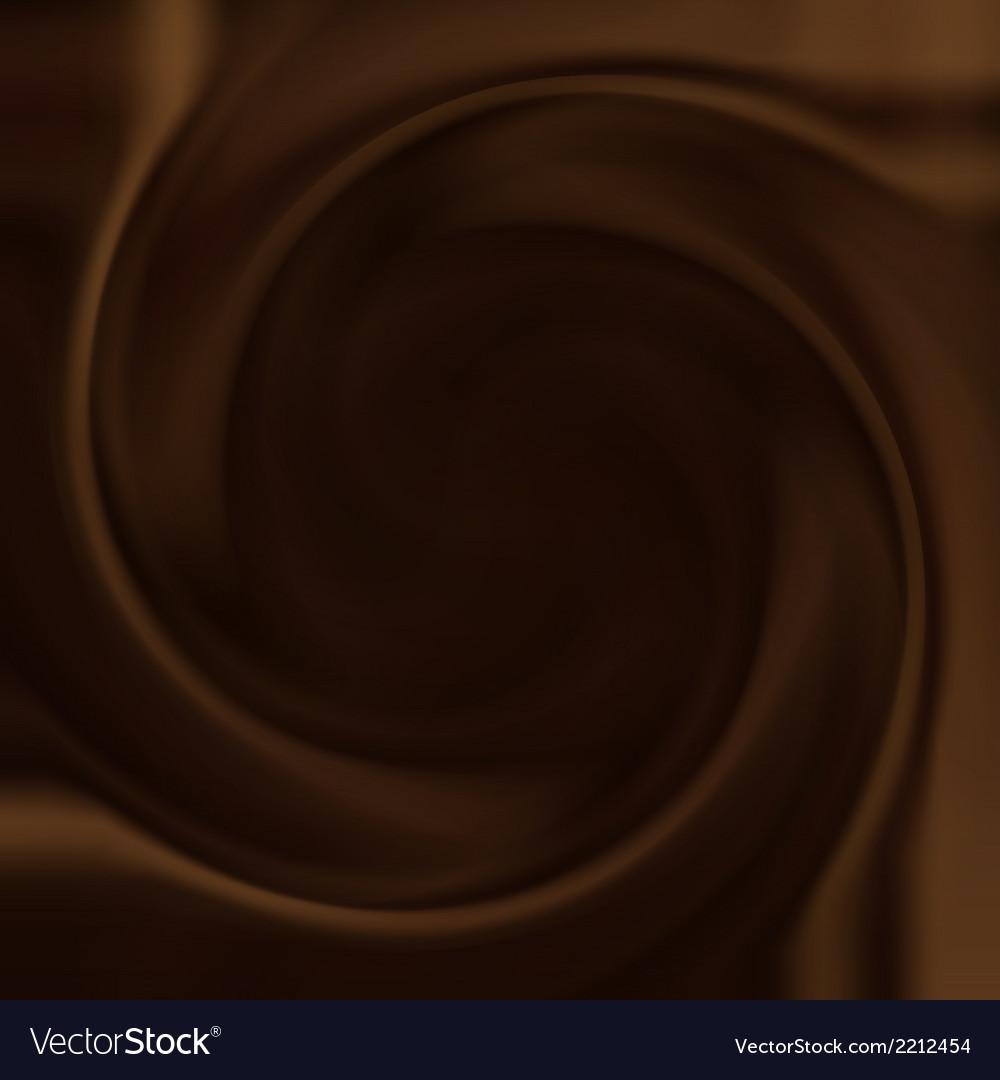 Chocolate swirl vector | Price: 1 Credit (USD $1)