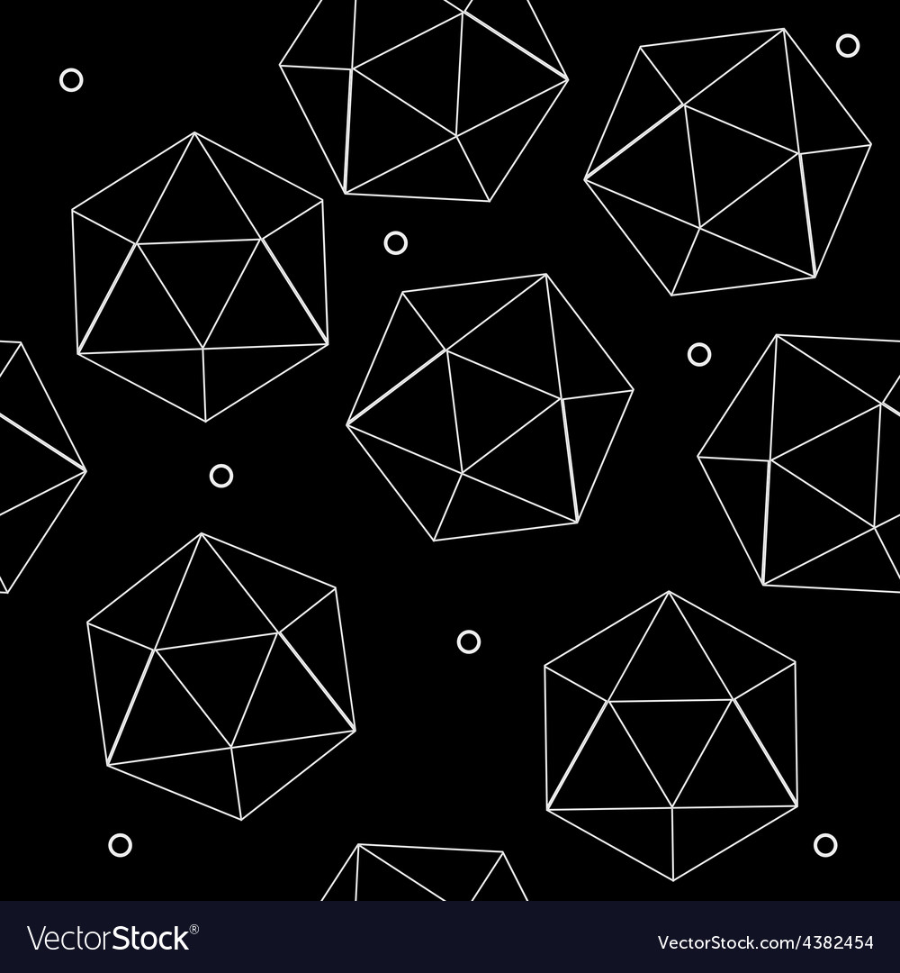 Geometric seamless simple monochrome minimalistic vector | Price: 1 Credit (USD $1)