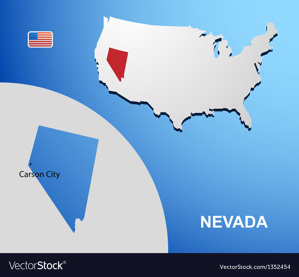 Nevada vector | Price: 1 Credit (USD $1)