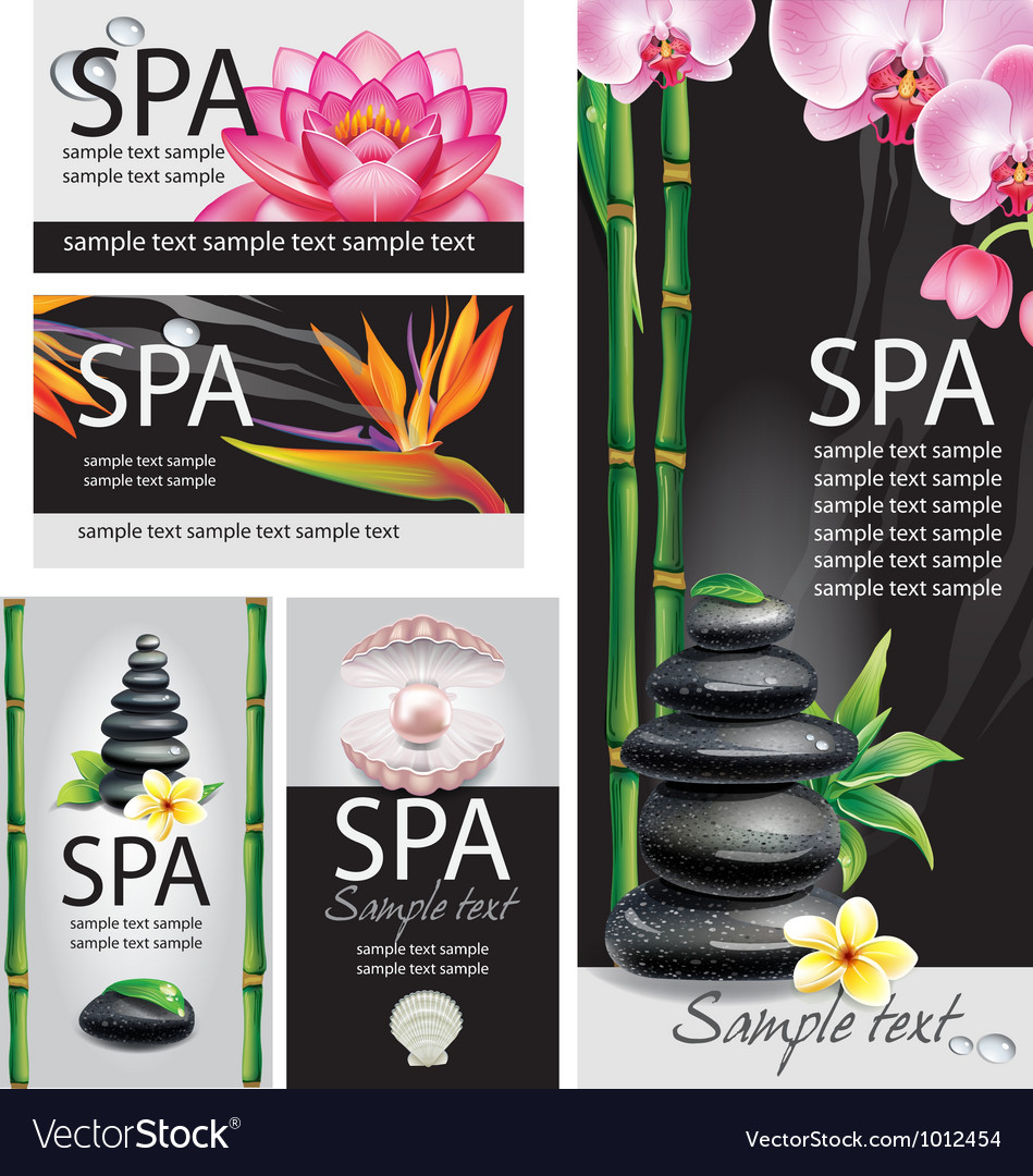 Spa concept vector | Price: 3 Credit (USD $3)