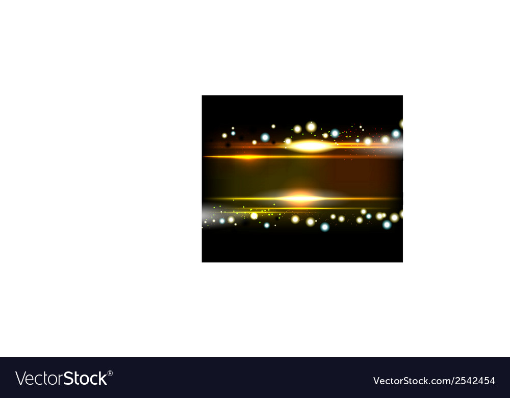 Yellow smooth technology light lines background vector | Price: 1 Credit (USD $1)