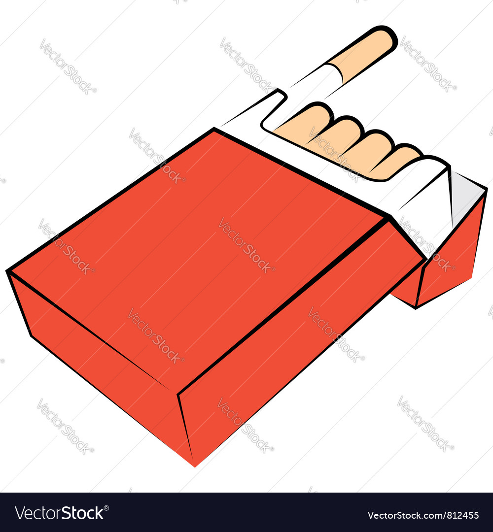 Cigarettes package vector   Price: 1 Credit (USD $1)