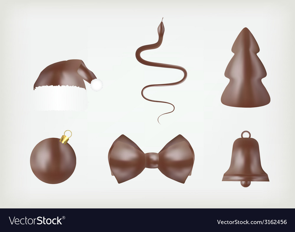 Assorted chocolate icons vector | Price: 1 Credit (USD $1)
