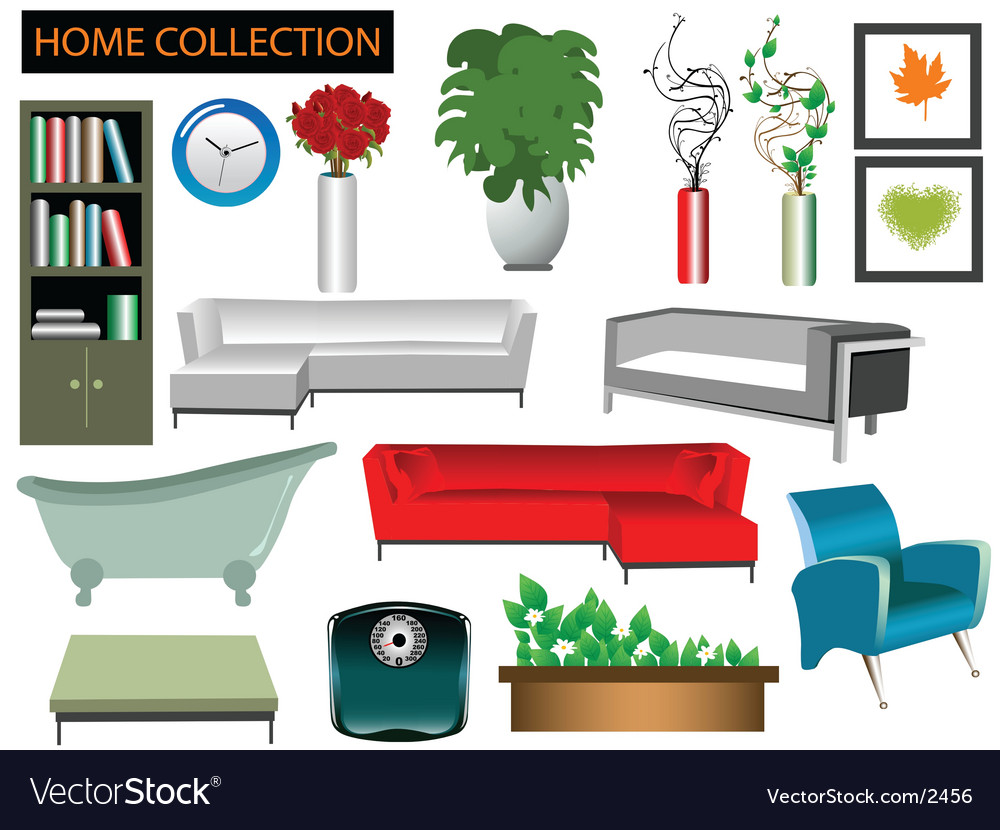 House collection vector | Price: 5 Credit (USD $5)