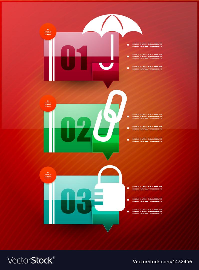 Speech cloud infographic template vector   Price: 1 Credit (USD $1)