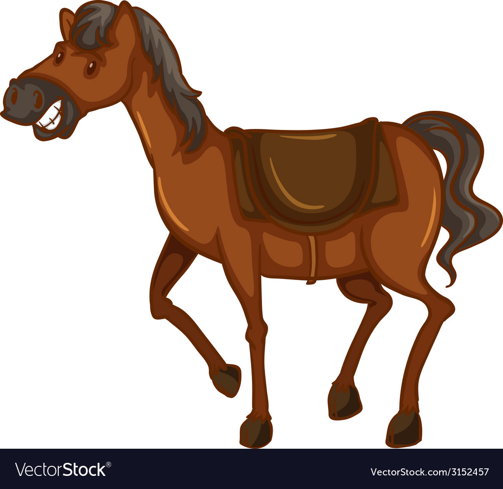 A sketch of a horse vector | Price: 1 Credit (USD $1)