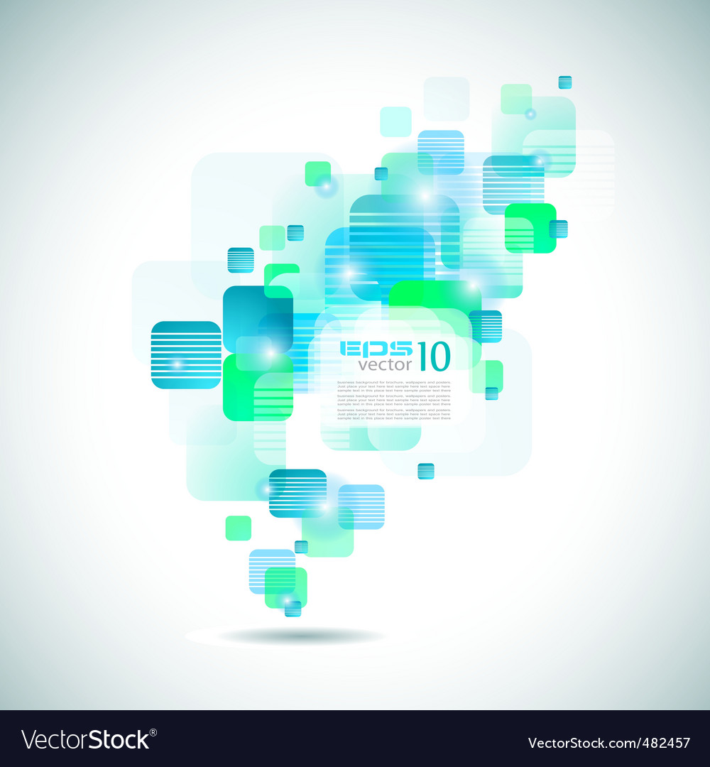 Futuristic brochure cover vector | Price: 1 Credit (USD $1)