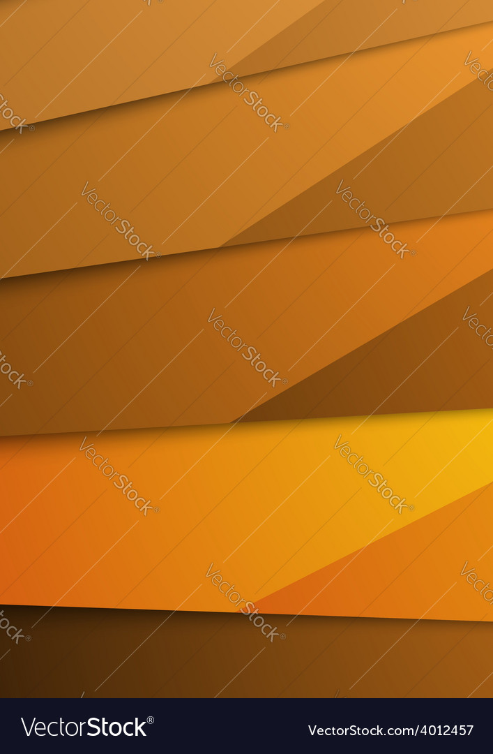 Golden abstract layer folder corporate template vector | Price: 1 Credit (USD $1)