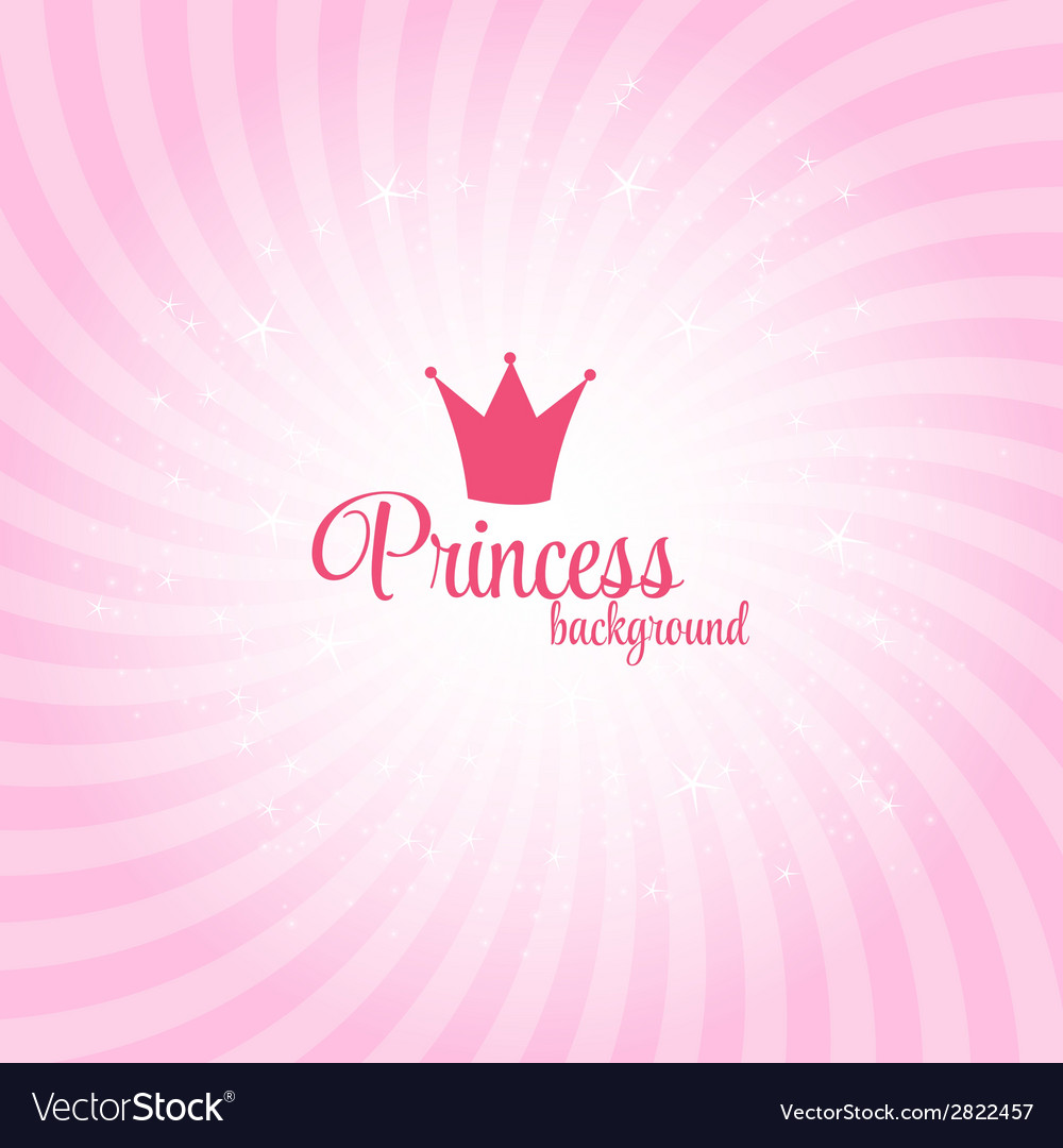 Princess abstract background vector | Price: 1 Credit (USD $1)