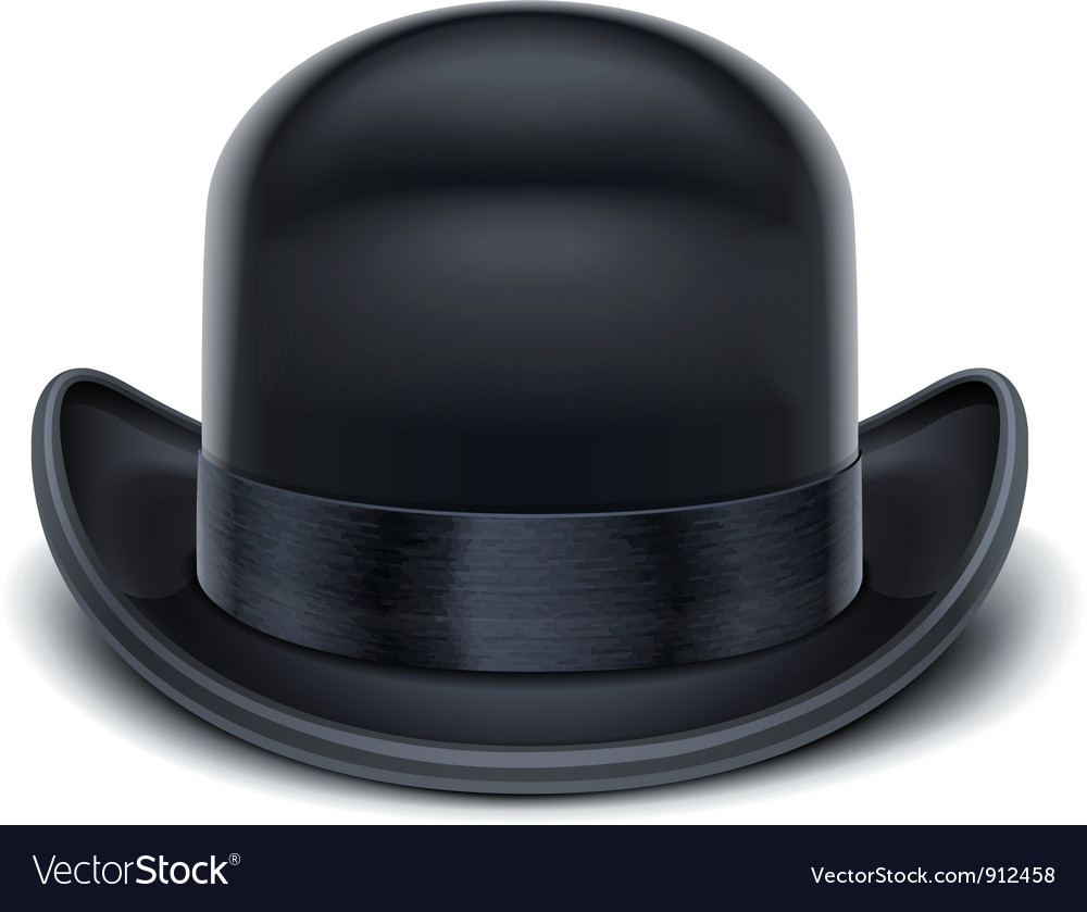 Bowler hat vector | Price: 3 Credit (USD $3)
