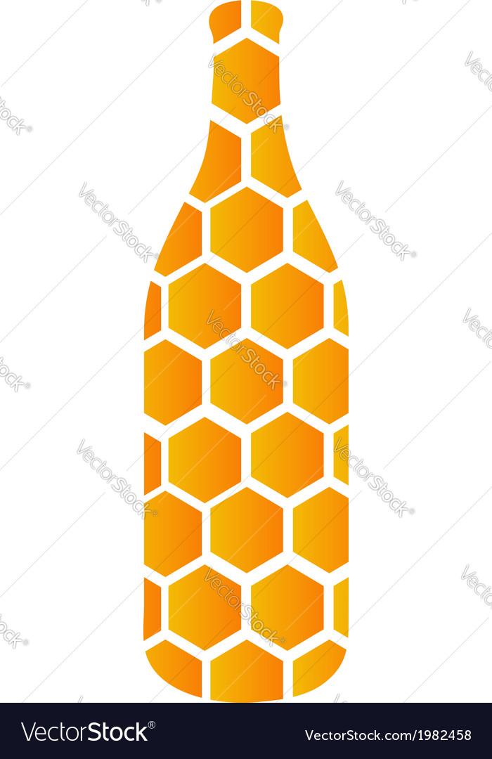 Jar of honey vector | Price: 1 Credit (USD $1)