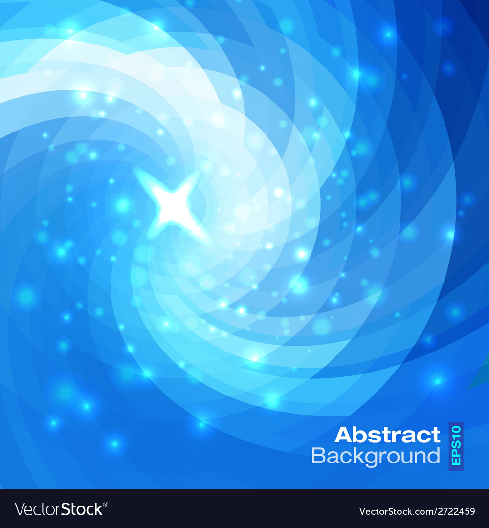 Abstract circular blue background vector | Price: 1 Credit (USD $1)
