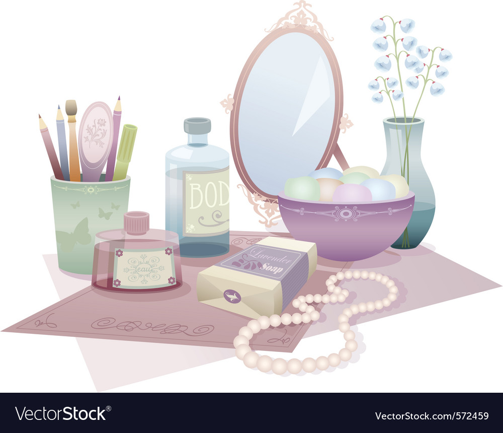 Beauty accessories vector | Price: 3 Credit (USD $3)