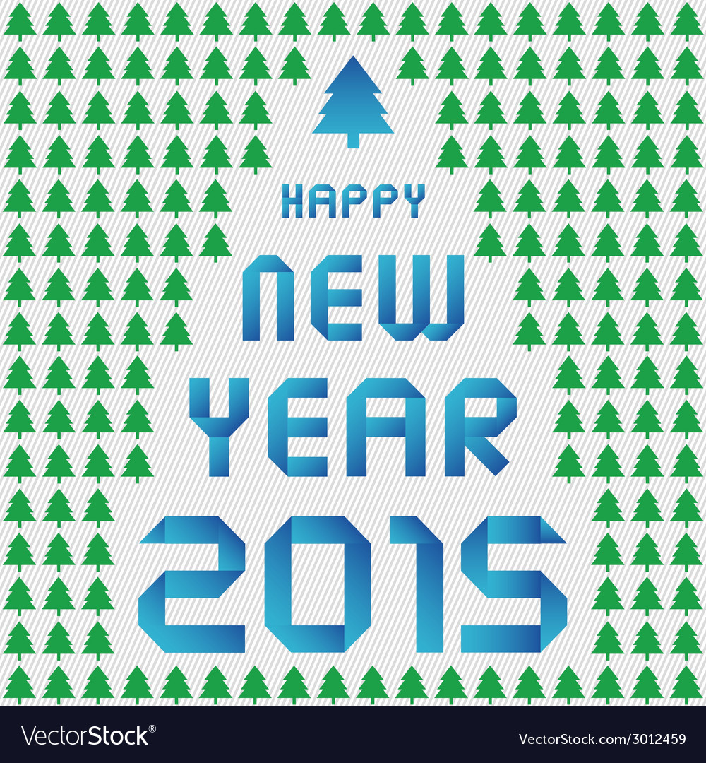 Happy new year 2015 greeting card9 vector | Price: 1 Credit (USD $1)