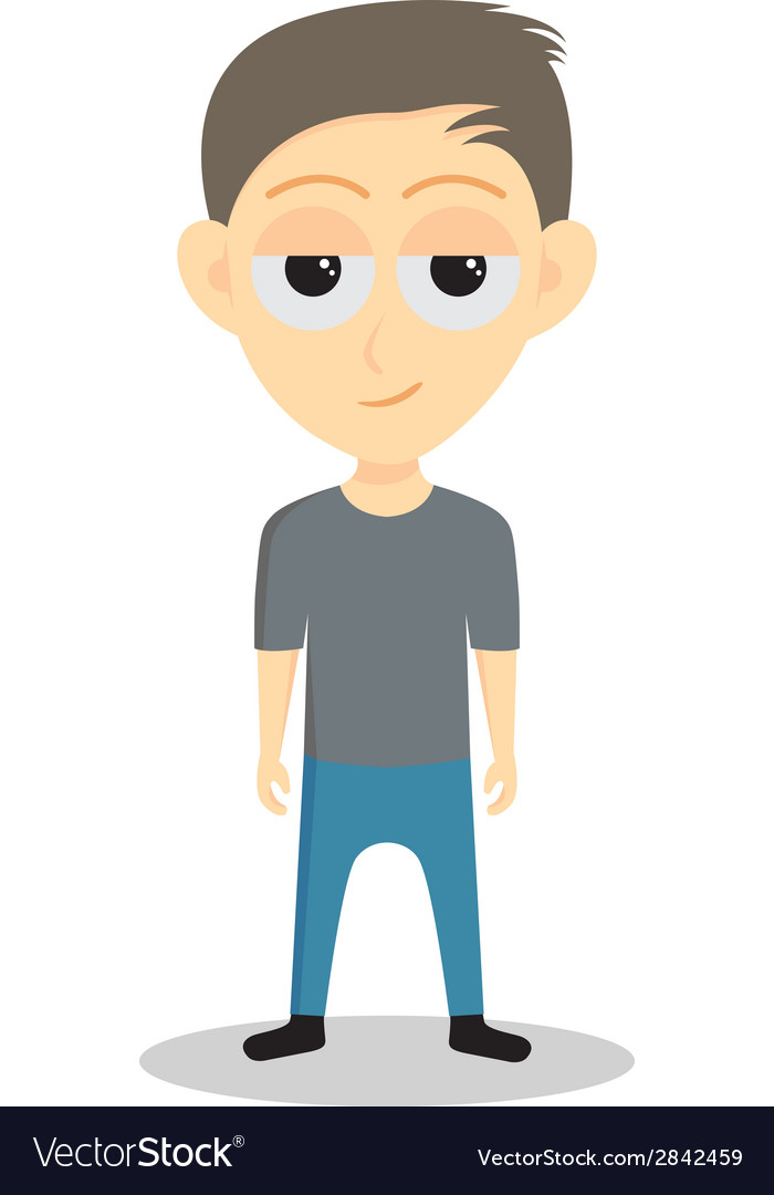 Teenage boy vector | Price: 1 Credit (USD $1)